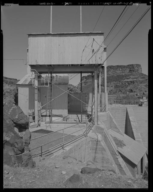 Shoshone Falls Hydroelectric Project,  Intake, North Bank of Snake River, immediately West/Northwest of the Shoshone Falls Hydroelectric Project Dam No. 1, Tipperary Corner, Jerome County, ID