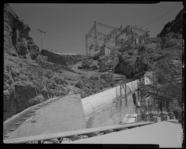 Shoshone Falls Hydroelectric Project, Tunnel and Penstock, North Bank of Snake River, at West end of Intake, Tipperary Corner, Jerome County, ID