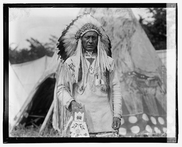 Shr[...] Co[...]t [Native American in traditional clothing], 5/29/23