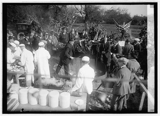 Shriners barbecue, 10/21/22