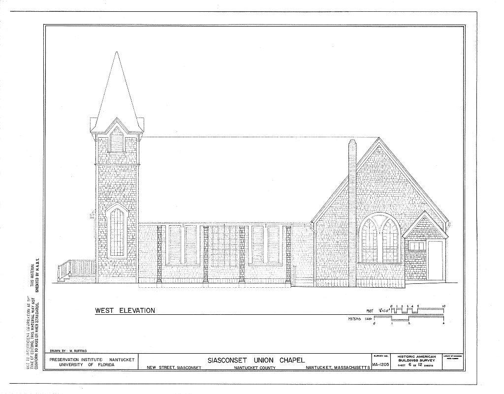 Siasconset Union Chapel, New Street, Siasconset, Nantucket, Nantucket County, MA
