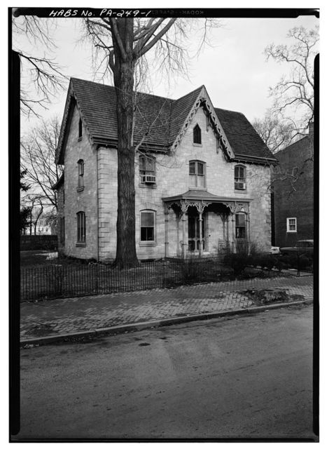 Sibyla Brinton House, 311 South Church Street, West Chester, Chester County, PA