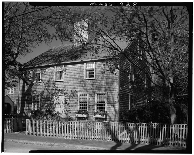 Silas Gardner House, 21 Milk Street, Nantucket, Nantucket County, MA