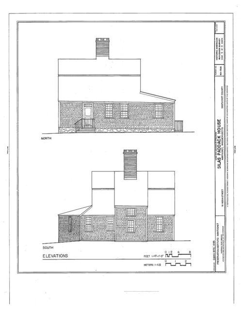 Silas Paddack House, 18 India Street, Nantucket, Nantucket County, MA