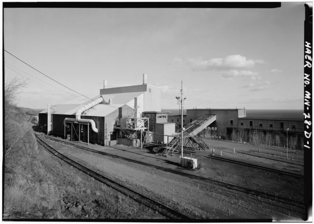 Silver Bay-Reserve Mining, Magnetic Concentration Plant, Fine Crusher Building, Babbitt, St. Louis County, MN