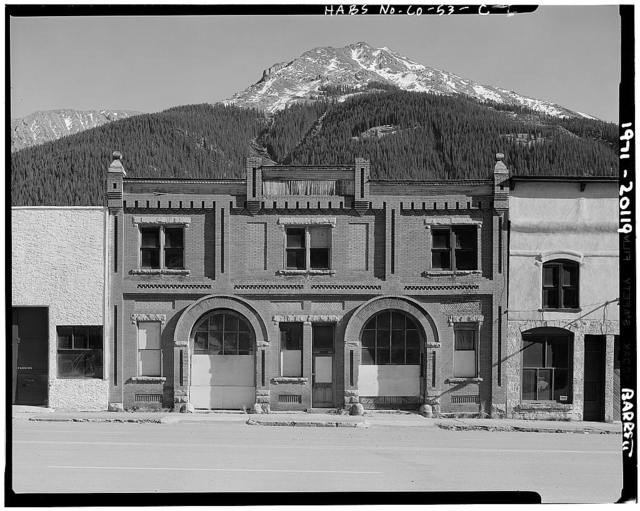 Silverton Historic District, Two-Entry Livery, 1112 East Green Street, Silverton, San Juan County, CO