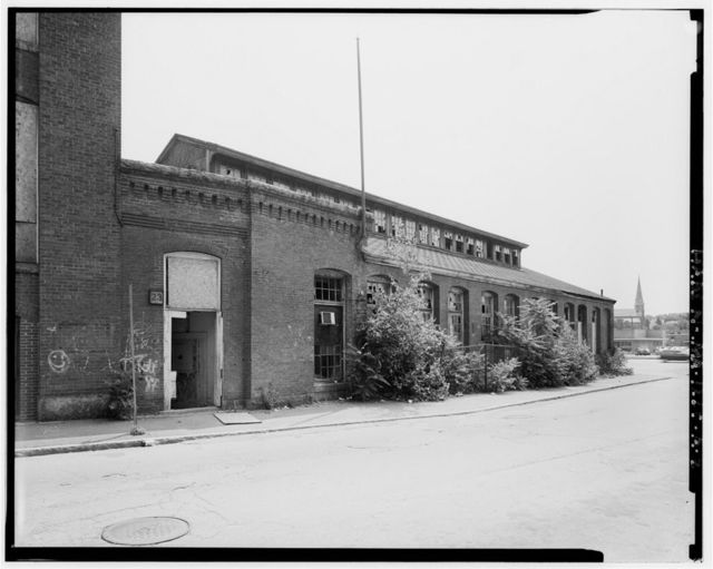 Simonds Manufacturing Company, Building No. 1, 23-55 North Street, Fitchburg, Worcester County, MA