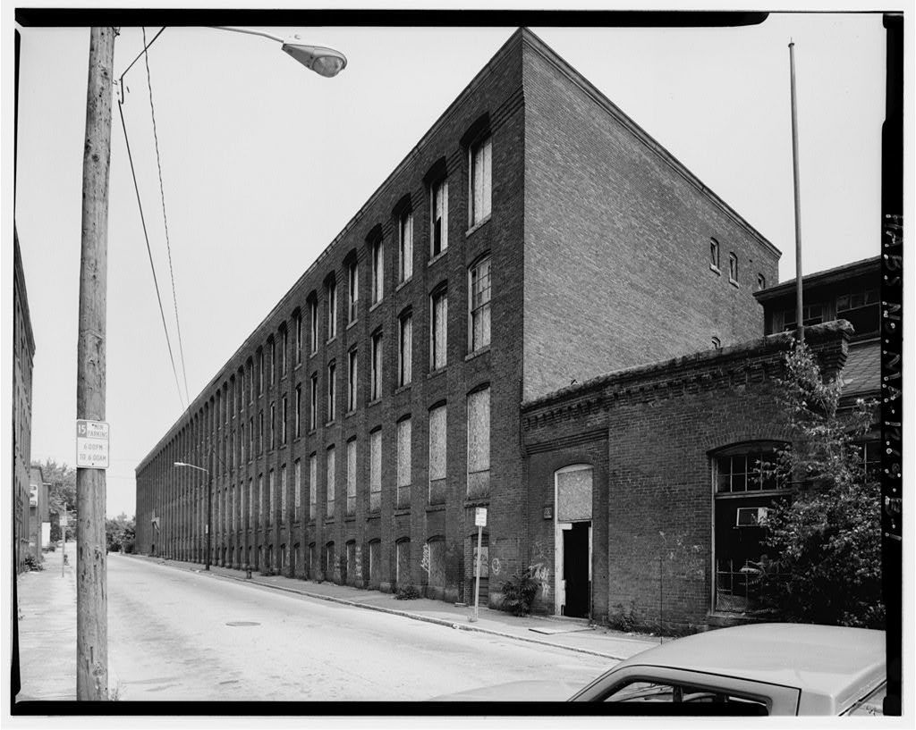 Simonds Manufacturing Company, Building Nos. 2 & 3, 23-55 North Street, Fitchburg, Worcester County, MA