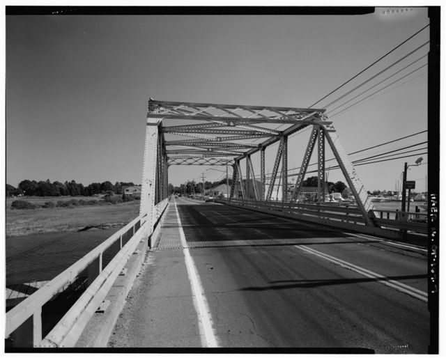 Singing Bridge, U.S. Route 1, over Patchogue River, Westbrook, Middlesex County, CT