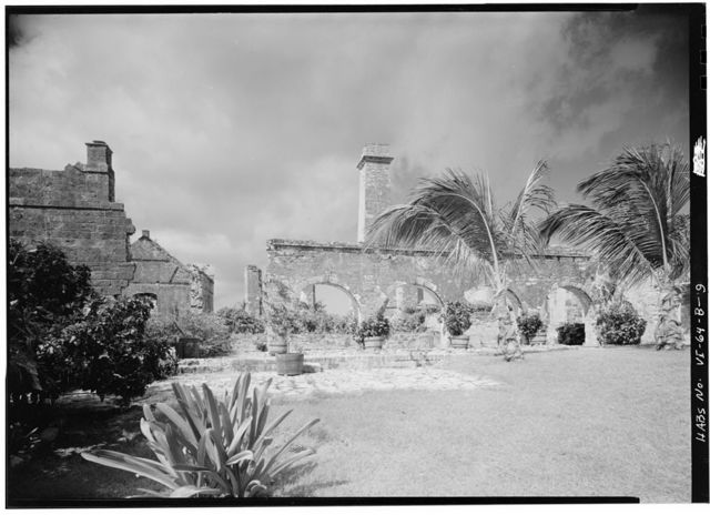 Sion Hill Estate, Factory (Ruin), Centerline Road vicinity, Sion Hill, St. Croix, VI
