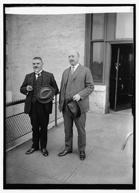 Sir Arnold Theiler & Dr. Jos. R. Mohler, 10/1/23