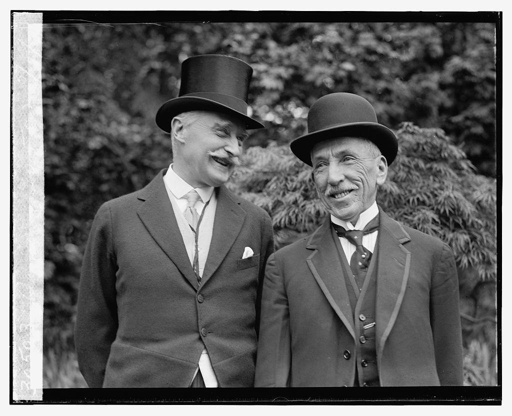 [Sir Esme Howard & Rt. Hon. Wm. Morris Hughes, 5/10/24]