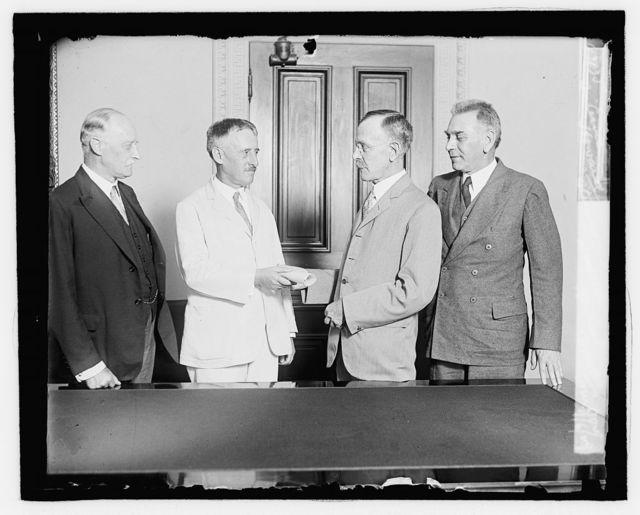 Sir Esme Howard, Stinson, Herbert Brooks, D.M. Dow, 9/6/29