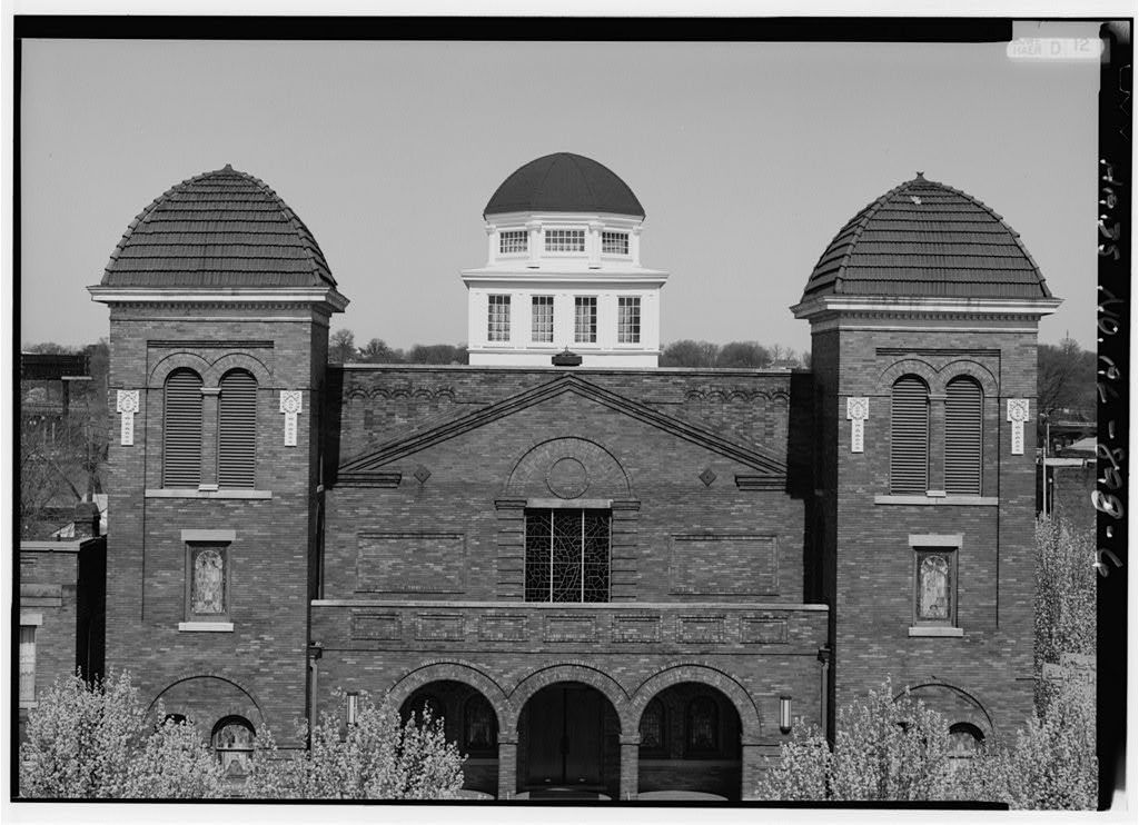 Sixteenth Street Baptist Church, 1530 Sixth Avenue North, Birmingham, Jefferson County, AL