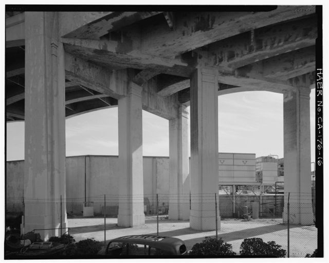 Sixth Street Bridge, Spanning 101 Freeway at Sixth Street, Los Angeles, Los Angeles County, CA