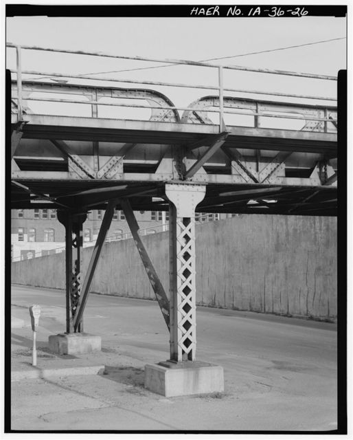 Sixth Street Viaduct, Spanning Burlington Northern Railroad & Valley Street, Burlington, Des Moines County, IA