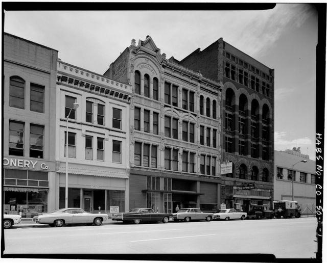 Skyline Urban Renewal Area, 1622-1632 Arapahoe Street (Commercial Buildings), 1622-1632 Arapahoe Street, Denver, Denver County, CO