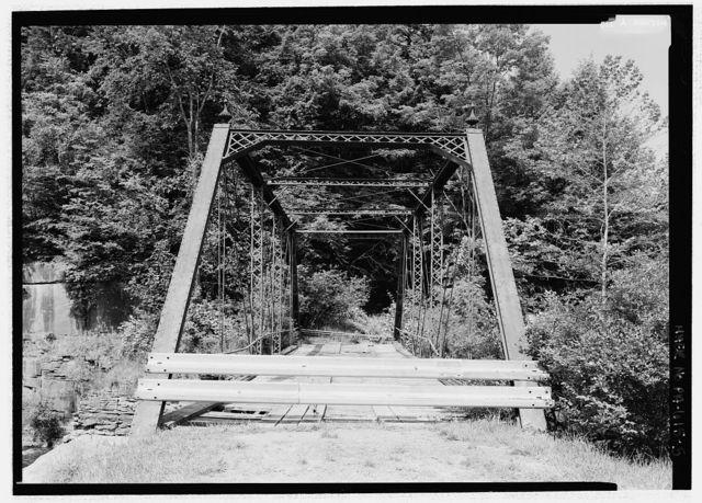 Slates' Mill Bridge, Township Road 439 spanning South Branch of Tunkhannock Creek in Benton Township, Dalton, Lackawanna County, PA