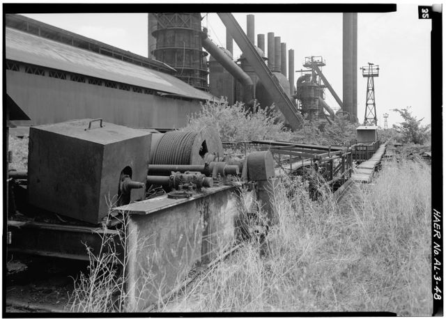 Sloss-Sheffield Steel & Iron, First Avenue North Viaduct at Thirty-second Street, Birmingham, Jefferson County, AL