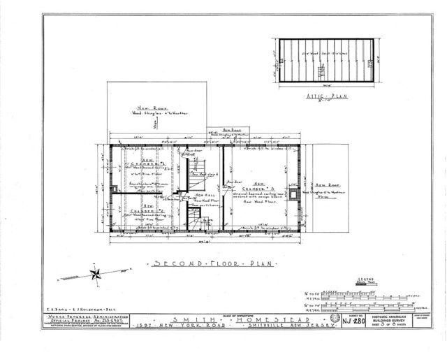 Smith Homestead, 1597 New York & Moss Hill Roads, Smithville, Atlantic County, NJ