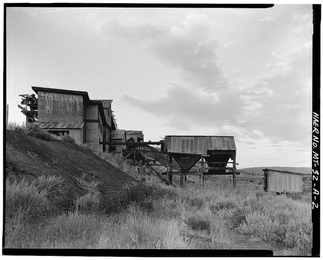 Smith Mine, Processing Plant, Bear Creek 1.5 miles West of Town of Bear Creek, Red Lodge, Carbon County, MT