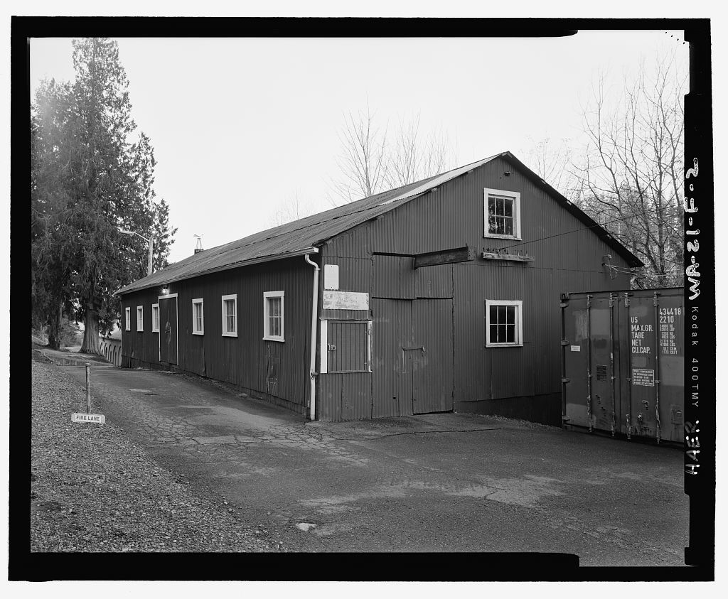 Snoqualmie Falls Hydroelectric Project, Carpenter Shop, .5 mile north of Snoqualmie, Snoqualmie, King County, WA
