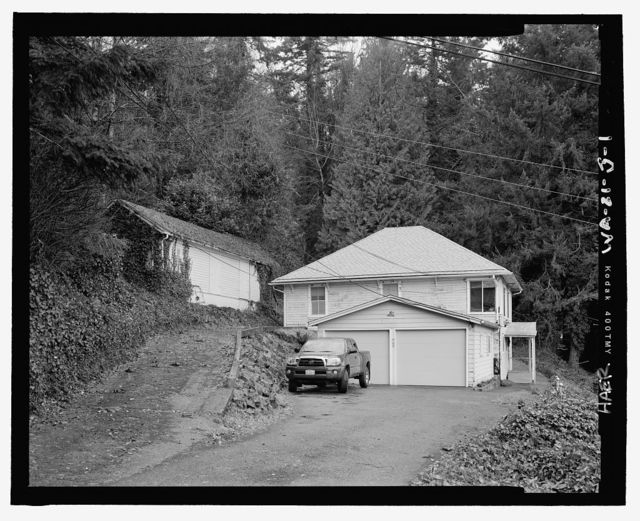 Snoqualmie Falls Hydroelectric Project, Cottage No. 1, .5 mile north of Snoqualmie, Snoqualmie, King County, WA