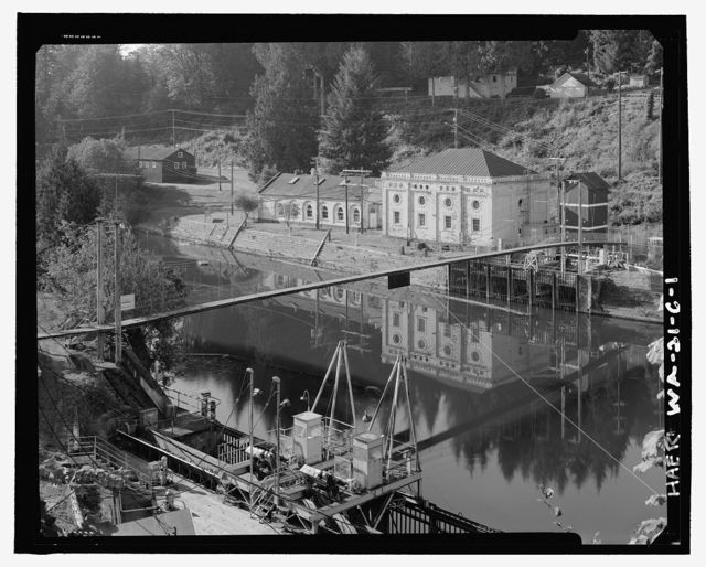 Snoqualmie Falls Hydroelectric Project, Elevator House, .5 mile north of Snoqualmie, Snoqualmie, King County, WA