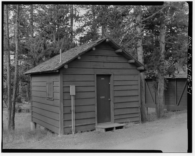 Snowlodge, Tourist Cabin Type F No. 440, 460' southwest of Snowlodge, West Thumb, Teton County, WY