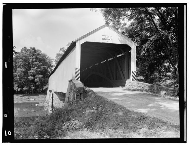 Snyder's Fording Covered Bridge, (Straban-Tyrone Township), Hunterstown, Adams County, PA