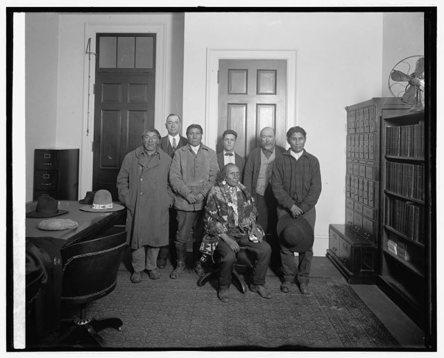 So. Ute Indians, 11/12/25; Ofc. of Cong. Jno. Monroe of N.M.