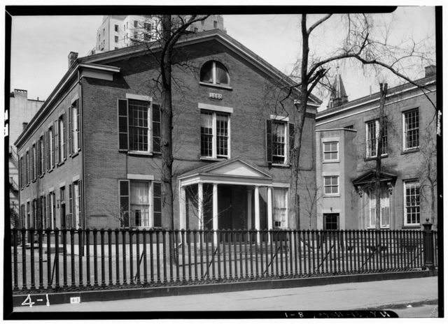 Society of Friends Meetinghouse, 15 Rutherford Place, New York, New York County, NY