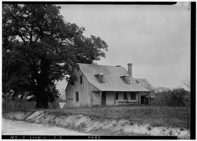 Solomons Island Road (Farmhouse), State Routes 2 & 4, Lusby, Calvert County, MD