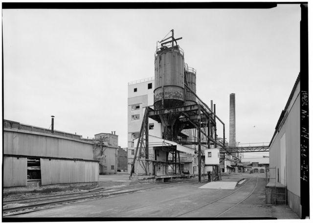 Solvay Process Company, Dense Ash Building, Between Willis & Milton Avenues, Solvay, Onondaga County, NY
