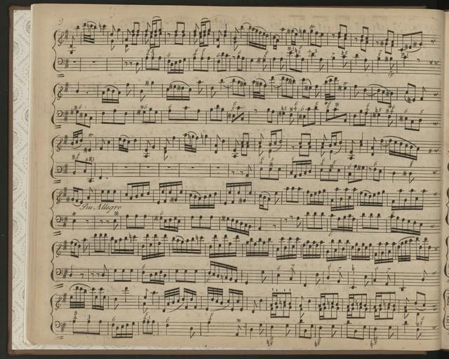 Sonate accademiche a violono sole e basso, deicate alla Sacra Real Maestà di Augusto III, re di Pollania &c. &c. et elettore di Sassonia &c. &c. Da: Francisco Ma. Veracini Fiorentino, compositor di camera della Medisima Opera secunda