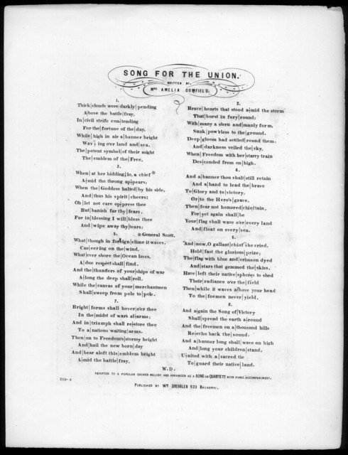 Song for the Union