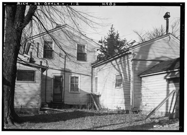 Soper Residence, 971 Michigan Avenue (U.S. Route 12), Grass Lake, Jackson County, MI