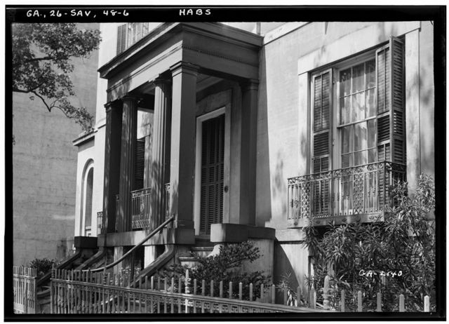 Sorrel-Weed House, 6 West Harris Street, Savannah, Chatham County, GA