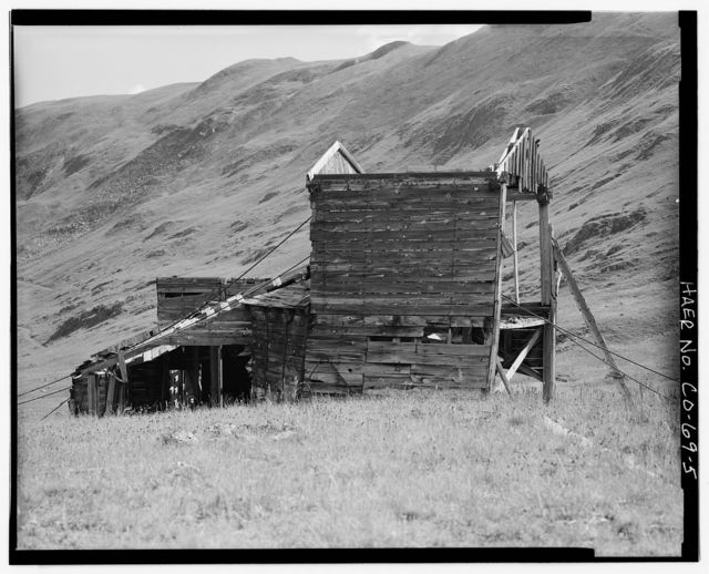 Sound Democrat Mill, Placer Creek Valley, Silverton, San Juan County, CO