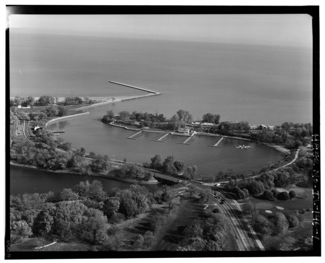 South Bridge, Spanning Jackson Park Lagoon at South Lake Shore Drive (U.S. Route 41), Chicago, Cook County, IL