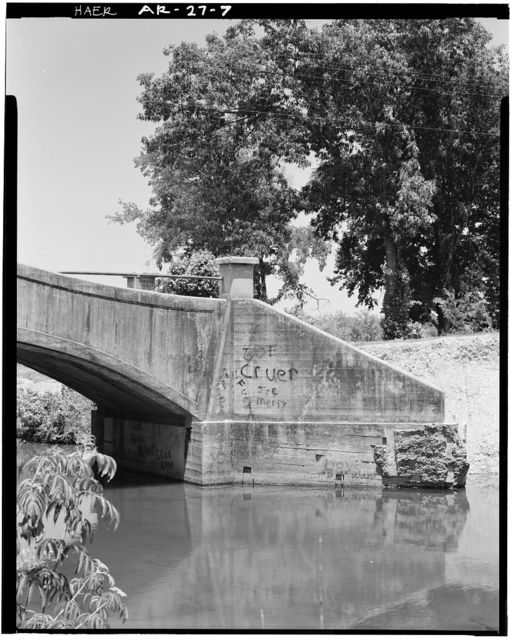 South Fork Bridge, Spans South Fork of Saline River, adjacent to State Highway 128, Fountain Lake, Garland County, AR