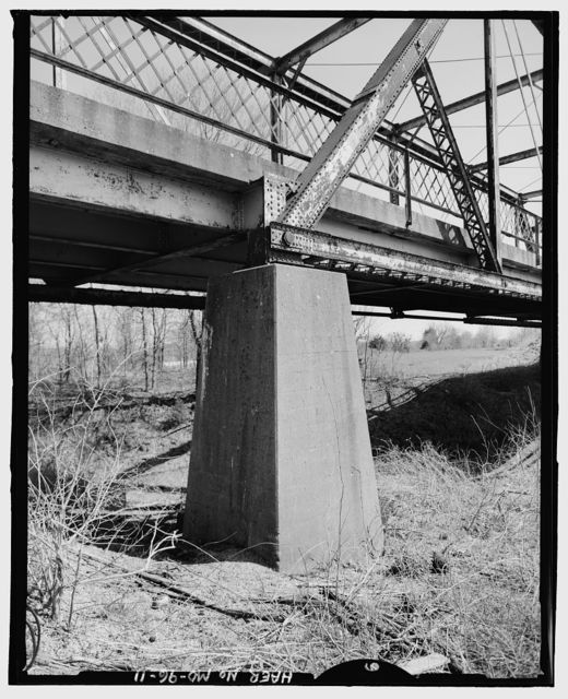 South Greenfield Overpass, Spanning Burlington Northern Railroad at State Route 39, South Greenfield, Dade County, MO