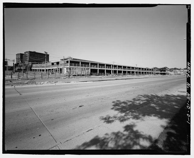 "South Omaha Union Stock Yards, Covered Hog Pens, 2900 ""O"" Plaza, Omaha, Douglas County, NE"