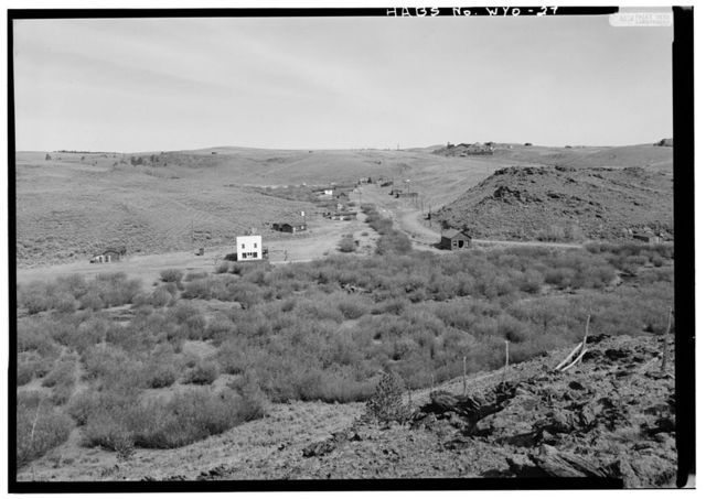 South Pass City, General View, South Pass City, Fremont County, WY