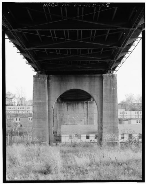 South Street Bridge, Spans Pennsylvania Avenue, Wilkes-Barre Boulevard, Pocono Northeast Railroad, Wilkes-Barre, Luzerne County, PA