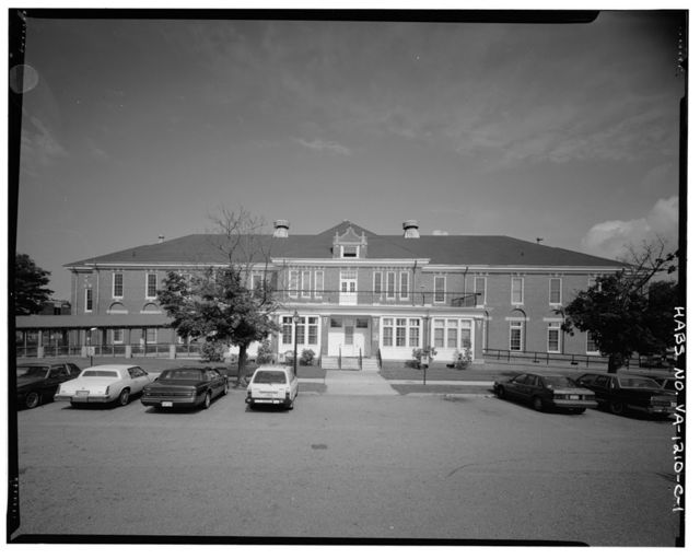 Southern Branch of the National Home for Disabled Volunteer Soldiers, Barracks O, 100 Emancipation Avenue, Hampton, Hampton, VA