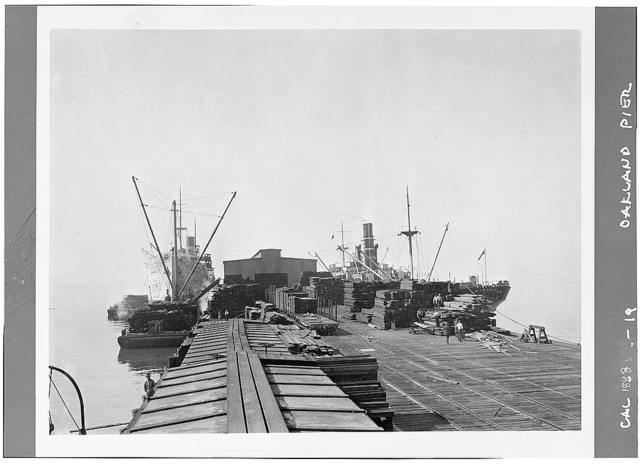 Southern Pacific Mole & Pier, Seventh Street, Oakland, Alameda County, CA