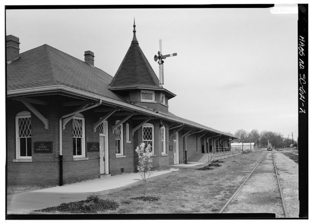 Southern Railway Combined Depot, West side of Belton Public Square, Belton, Anderson County, SC