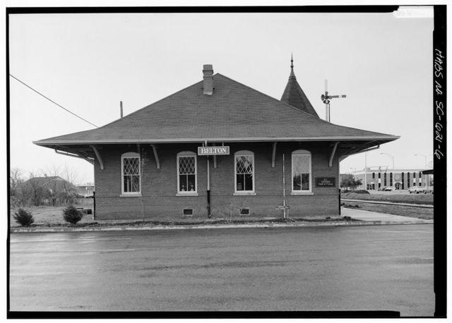 Southern Railway Combined Depot, West side of Belton Public Square, Belton, Anderson County, SC