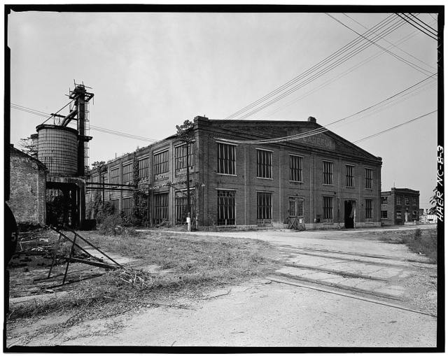 Southern Railway Company, Spencer Shops, Salisbury Avenue between Third and Eight Streets, Spencer, Rowan County, NC